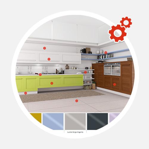 Cucine classiche e moderne arredamento cucine lube - Configura cucina ...