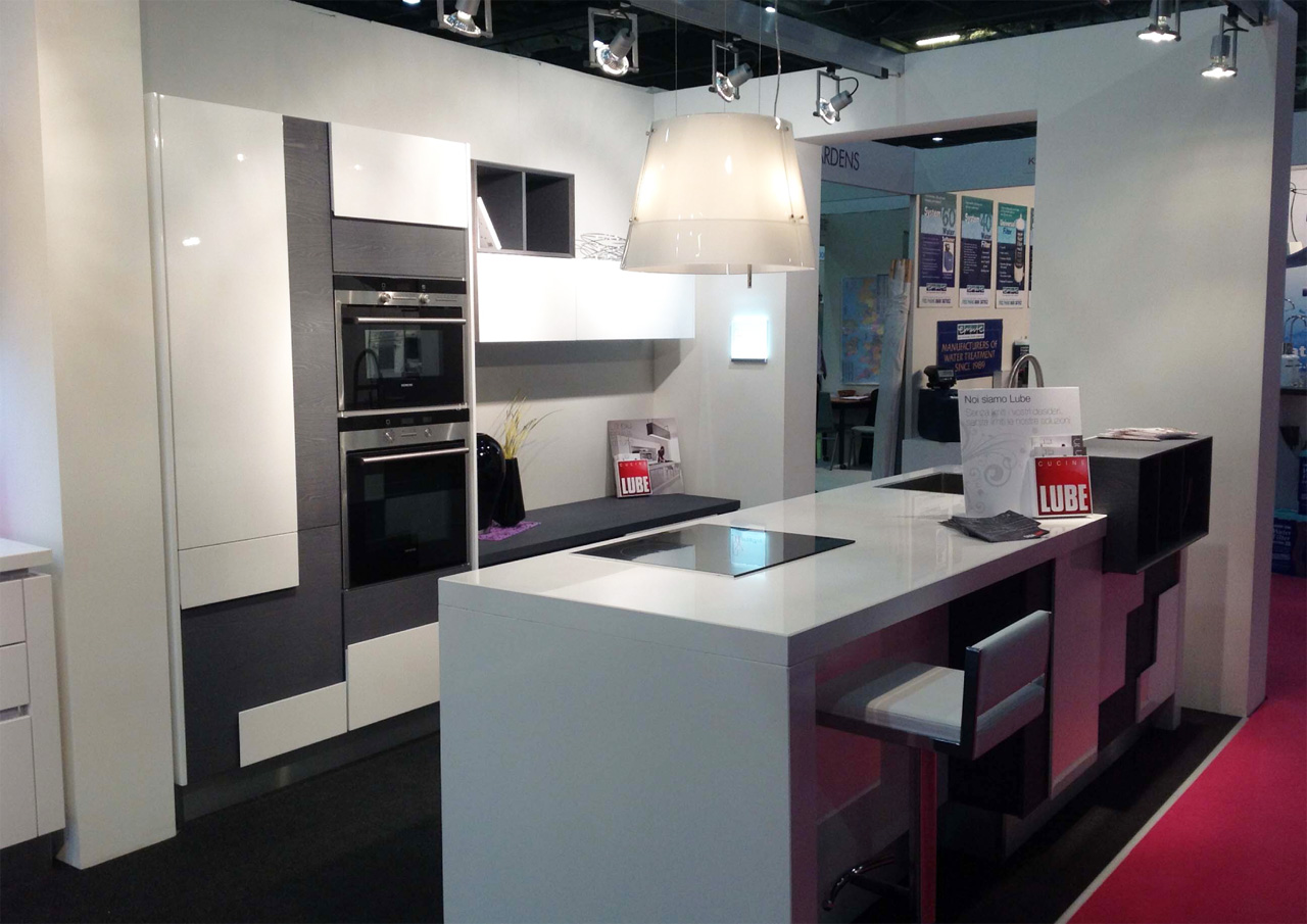 MADE IN ITALY OF KITCHENS LUBE AT THE GRAND DESIGN LIVE IN LONDON ...