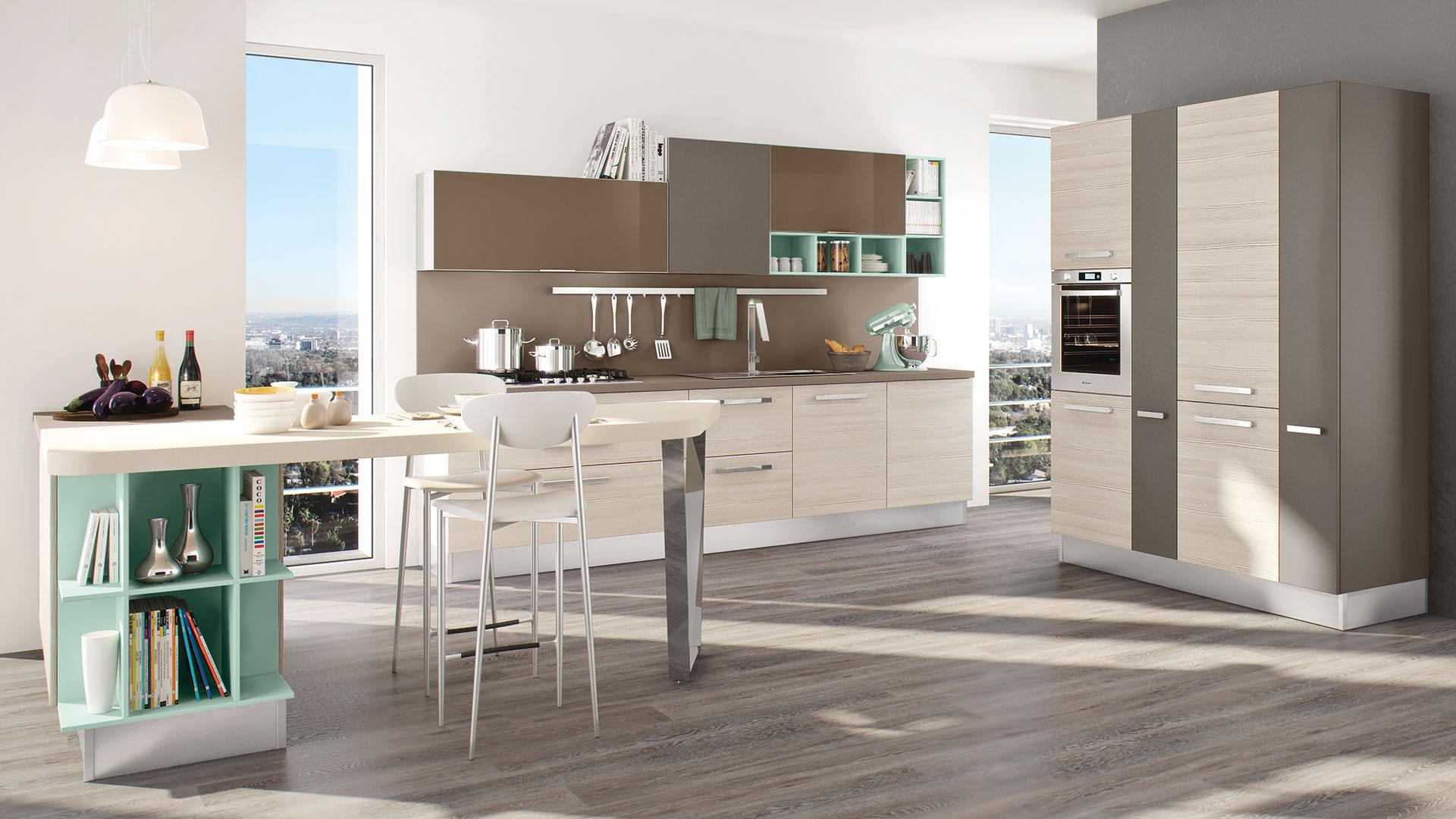 in cucina la parete sopra il lavandino il piano di lavoro e i fornelli particolarmente delicata anche perch soggetta spesso a schizzi dacqua schizzi