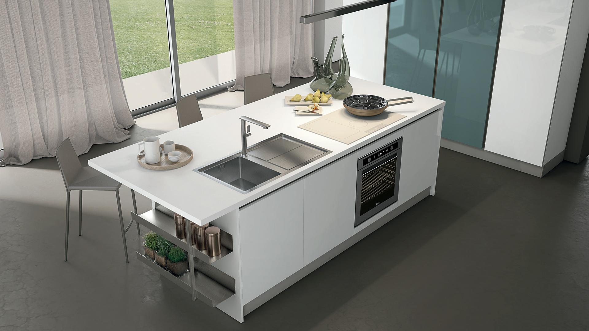 Cucina A Ferro Di Cavallo. Elegant Cucine A Ferro Di Cavallo Moderne ...
