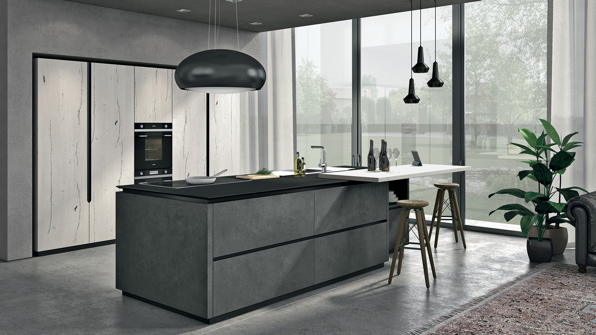 Oltre - Modern Kitchens - Lube Official Website