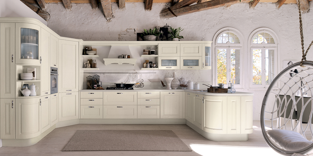 La cucina in stile Shabby Chic - Cucine Lube
