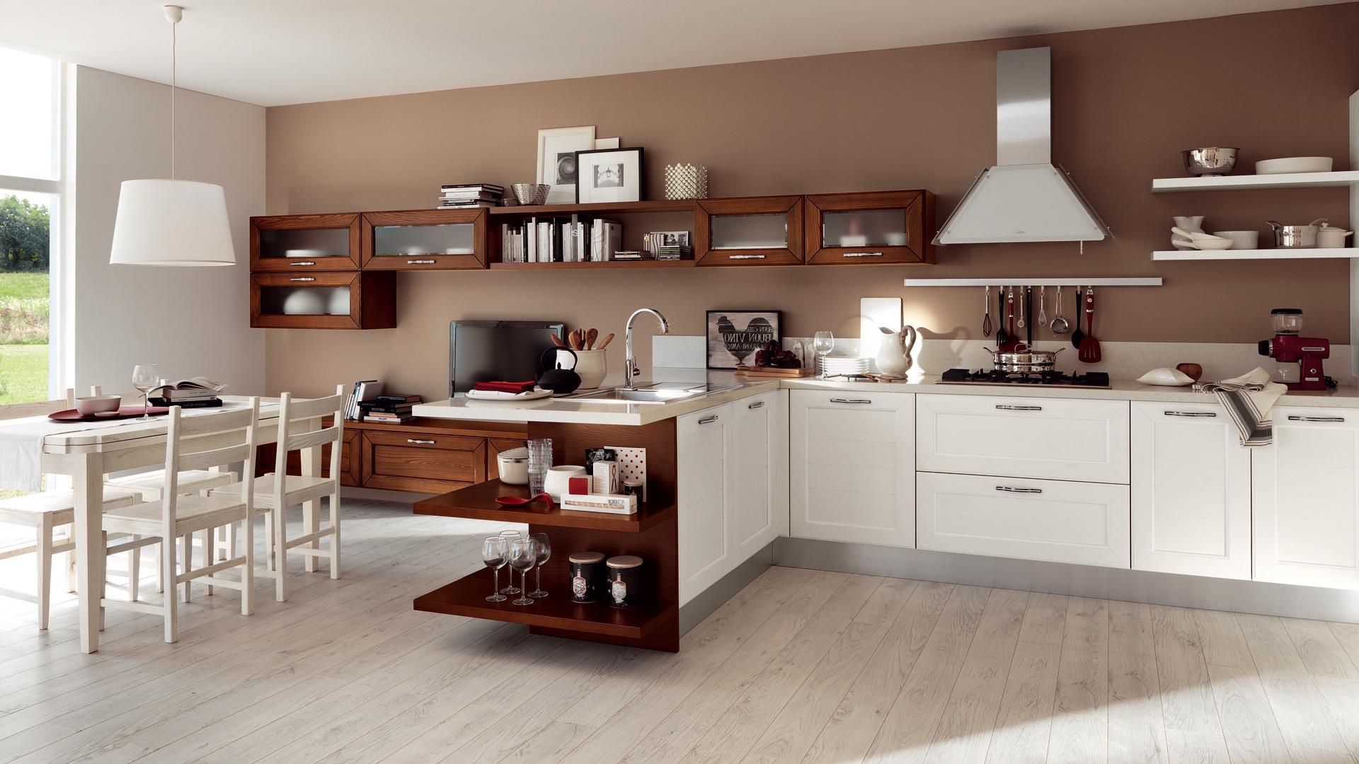 Cucina Classica Moderna. Finest Cucina Moderna Mt Lineari Mobilturi ...