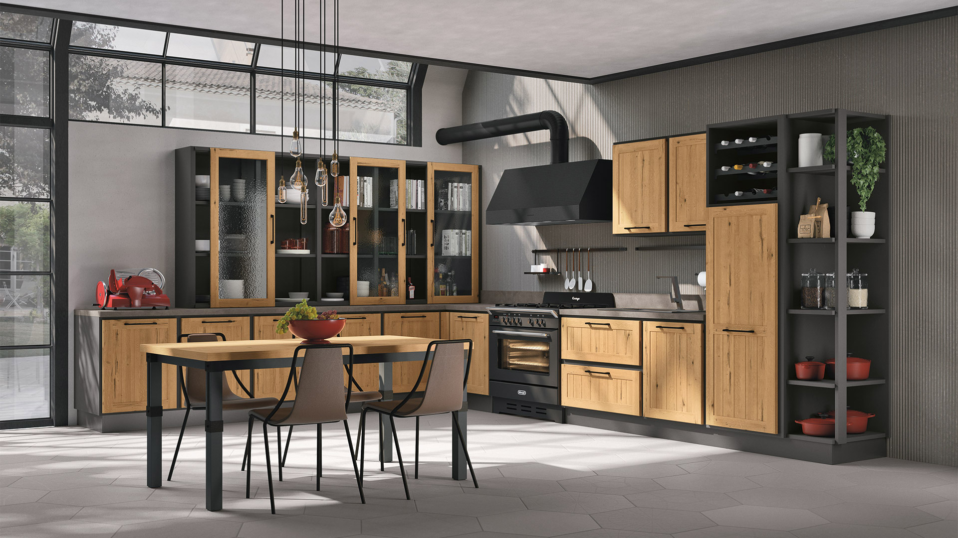 Classic and Modern Italian Kitchens and Furniture - Lube Official ...