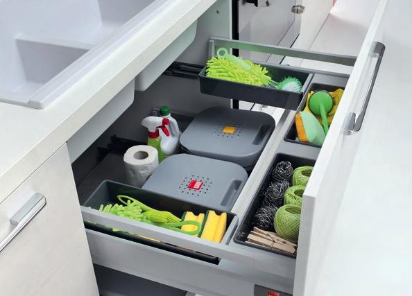 Come organizzare la raccolta differenziata in casa - Cucine Lube