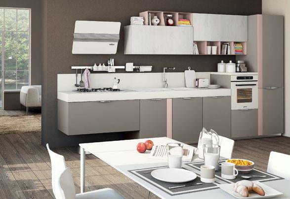 Cucine monoblocco: libertà compositiva anche in mancanza di spazio ...