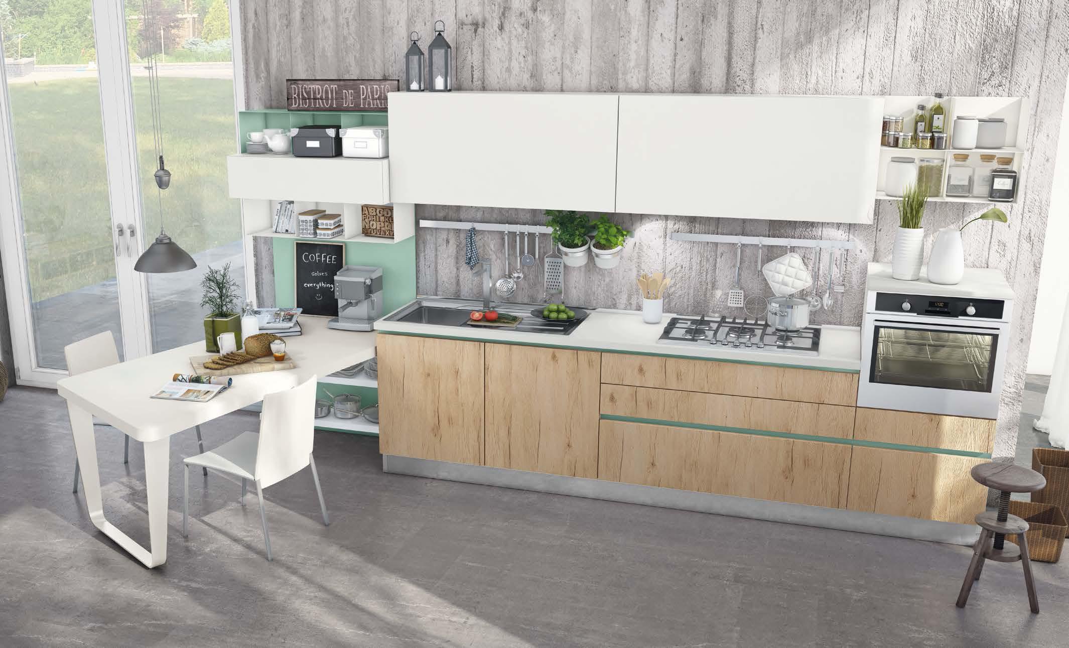 lo spazio in cucina sembra non bastare mai per questo importante saper gestire al meglio ogni centimetro a disposizione soprattutto negli ambiente