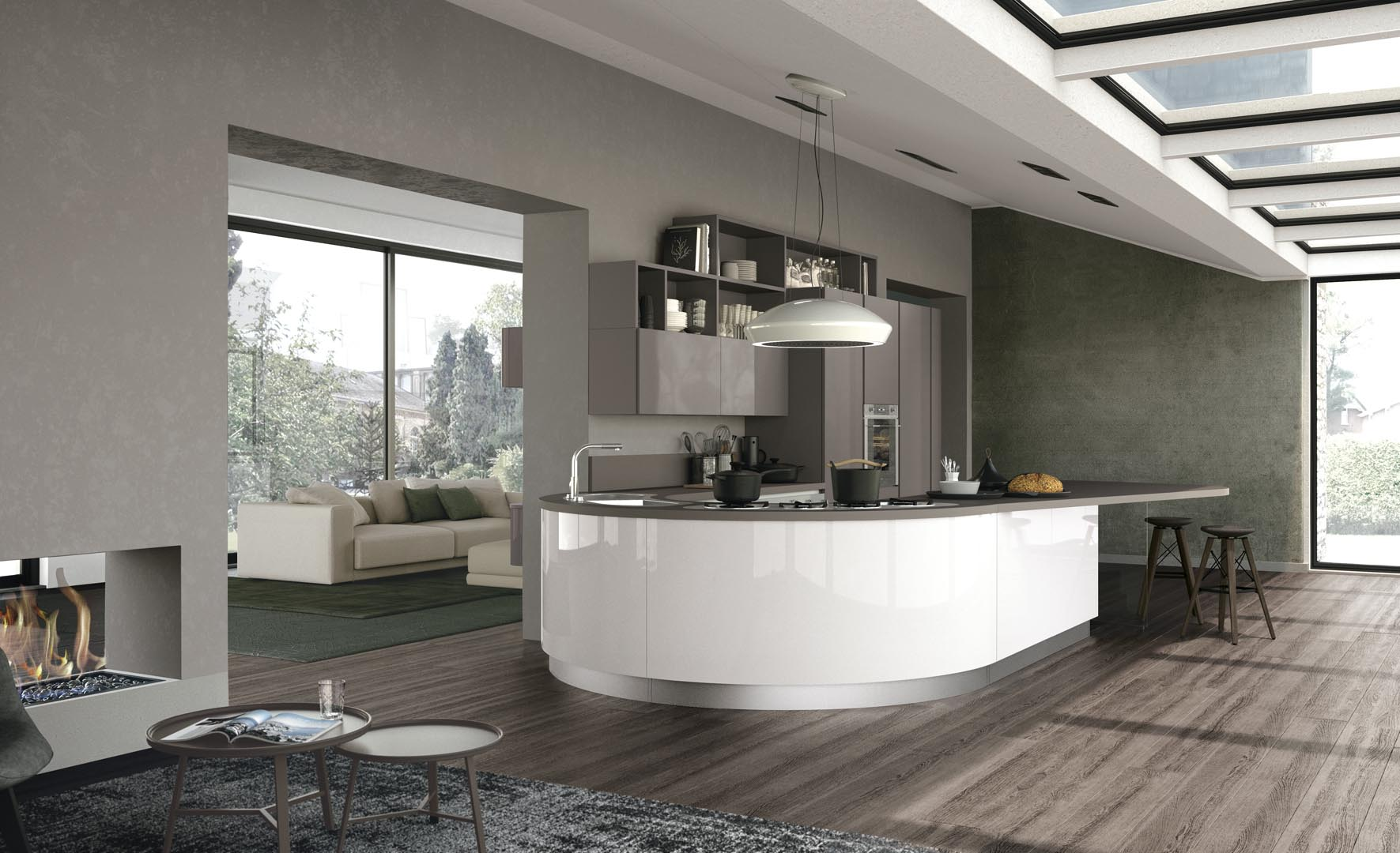 Clover - Modern Kitchens - Lube Official Website