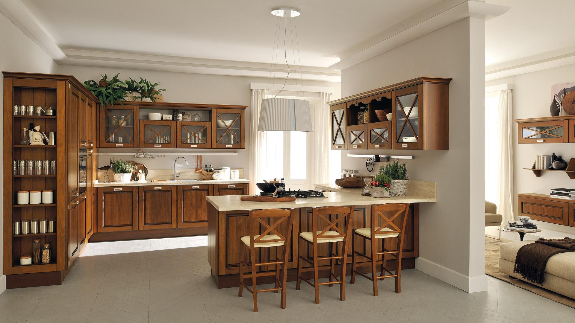 Come pulire e mantenere la cucina in legno - Cucine Lube