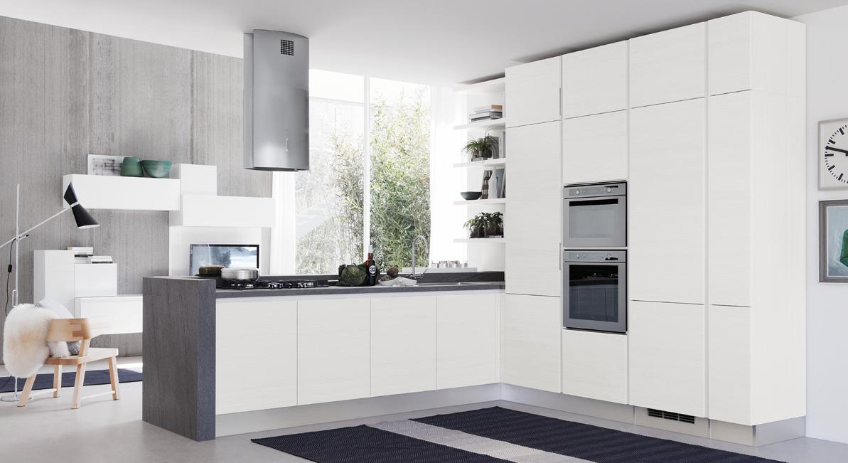 La gestione dello spazio nelle cucine di piccole dimensioni ...