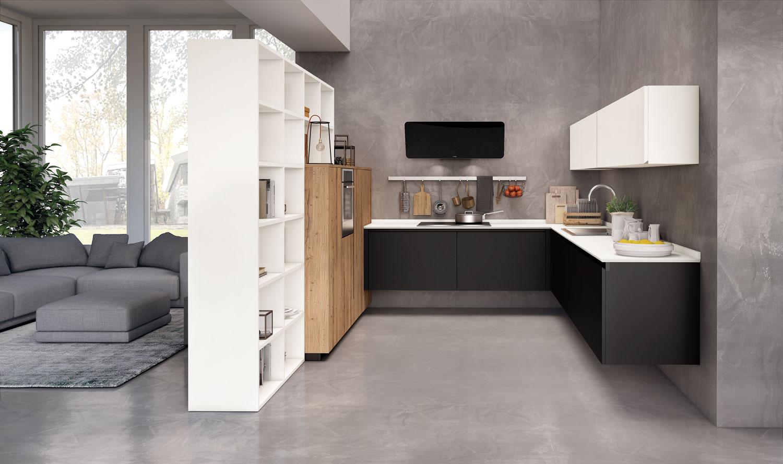 Cucine da 3 metri