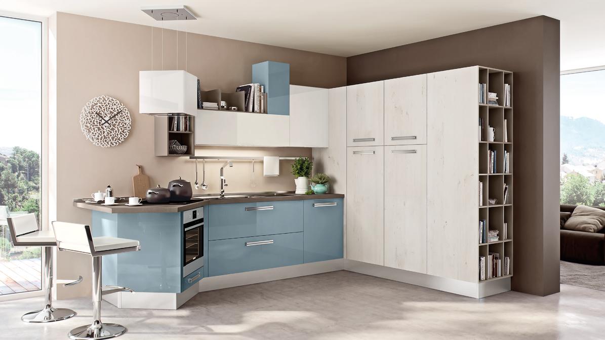la gestione dello spazio nelle cucine di piccole dimensioni