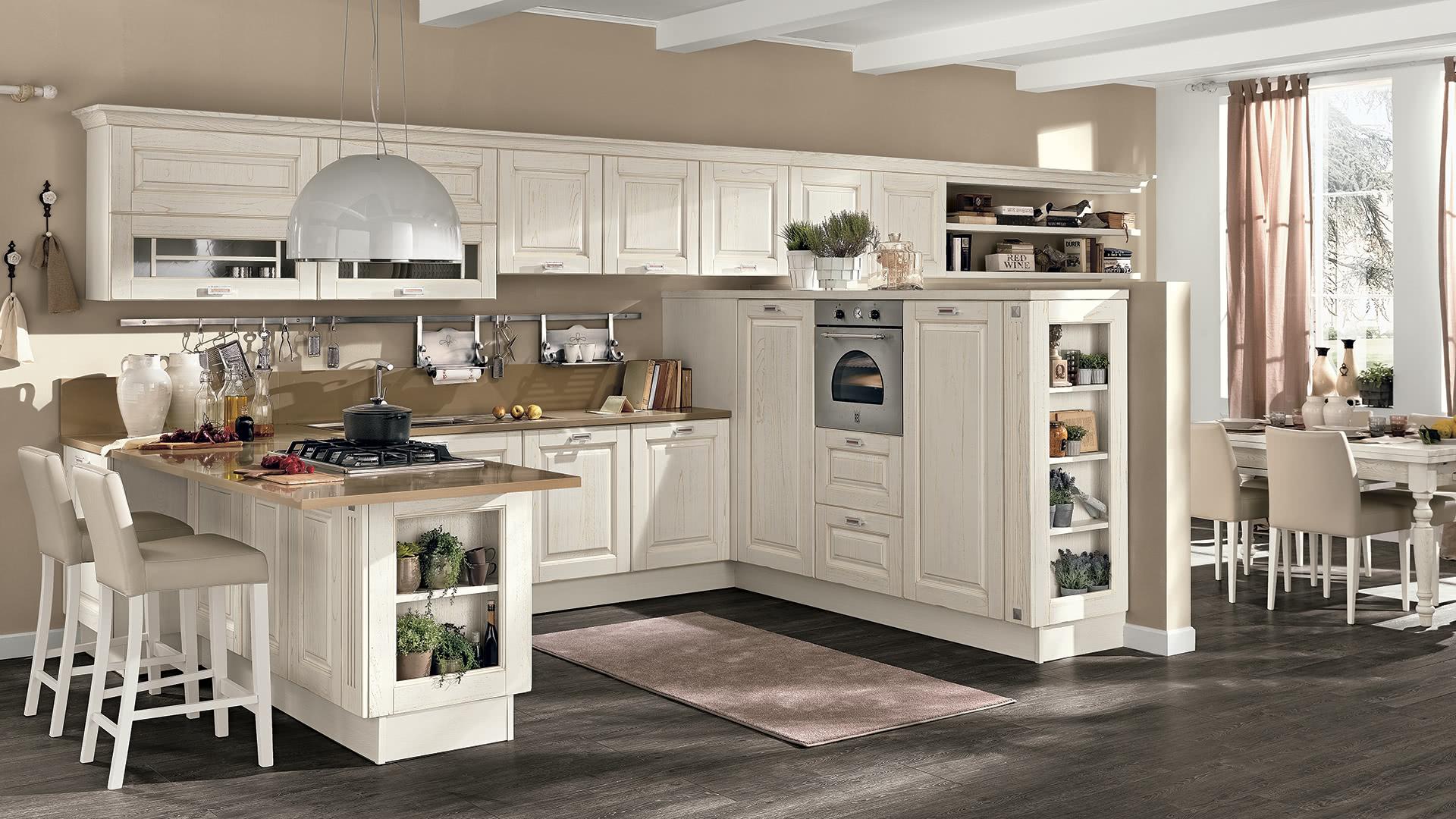 Laura - Cucine Classiche - Scheda prodotto - Cucine Lube