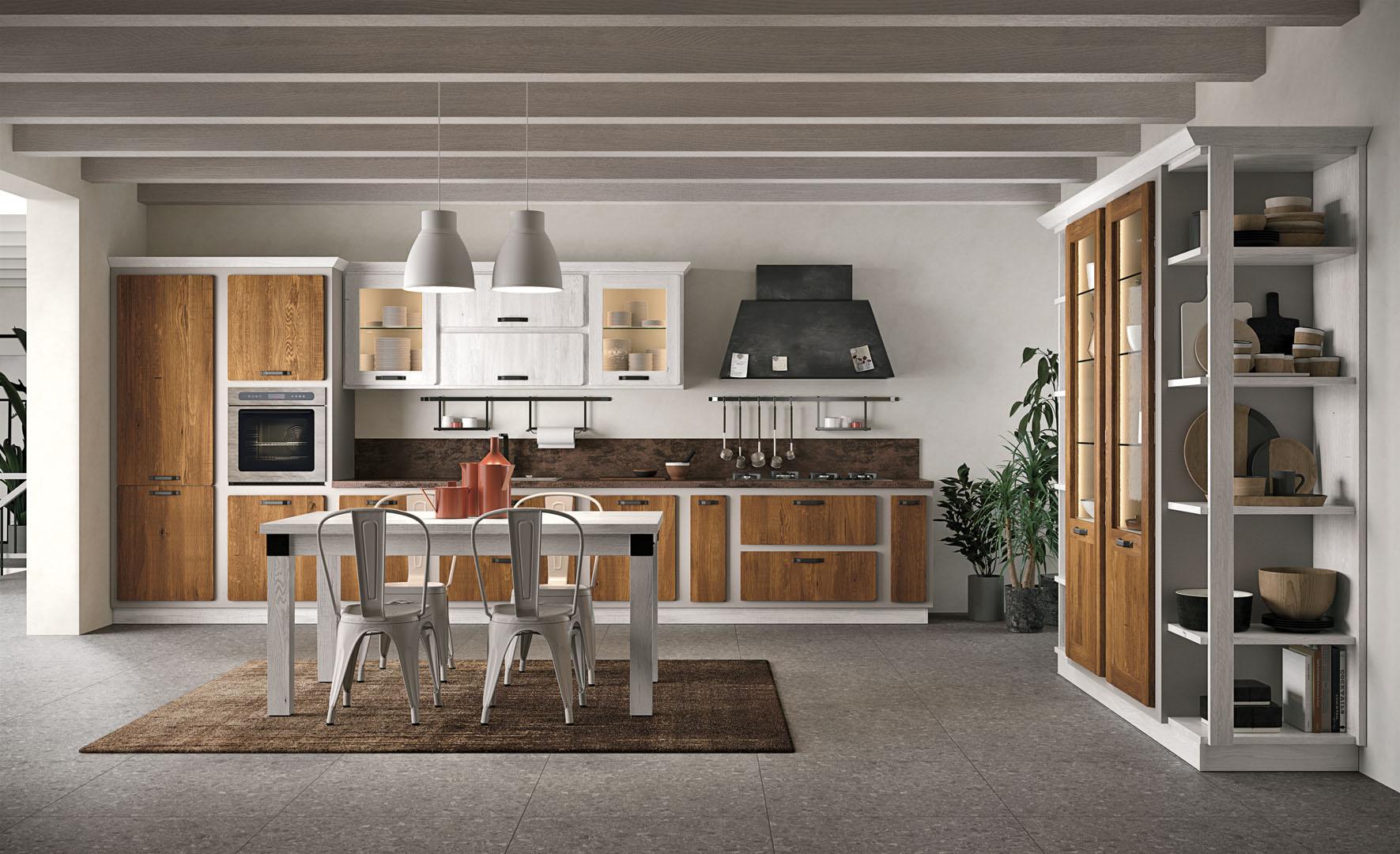 Rebecca - Cucine Borgo Antico - Cucine LUBE