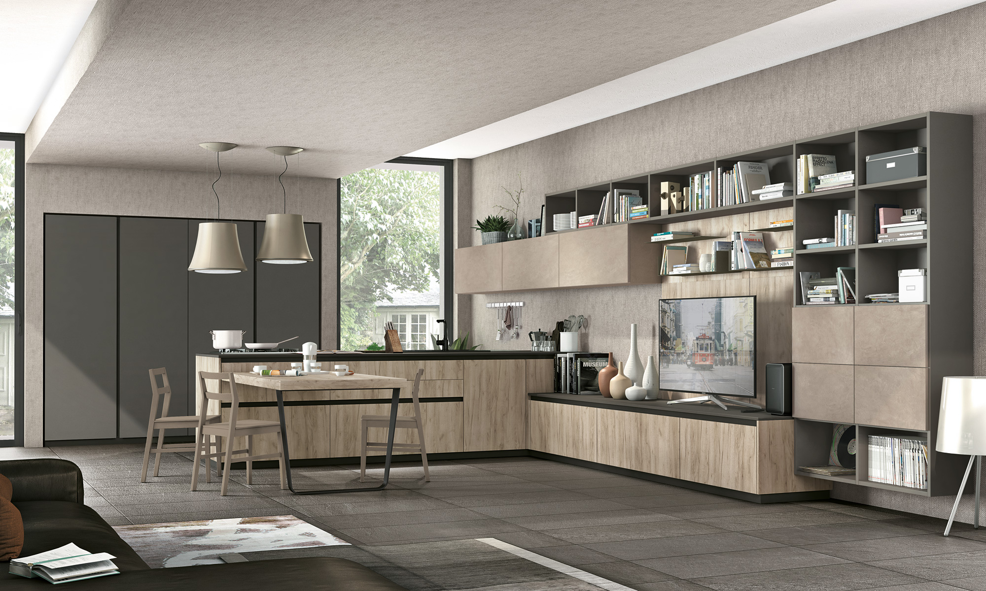 Lube Group presents the all-new Immagina - Cucine LUBE