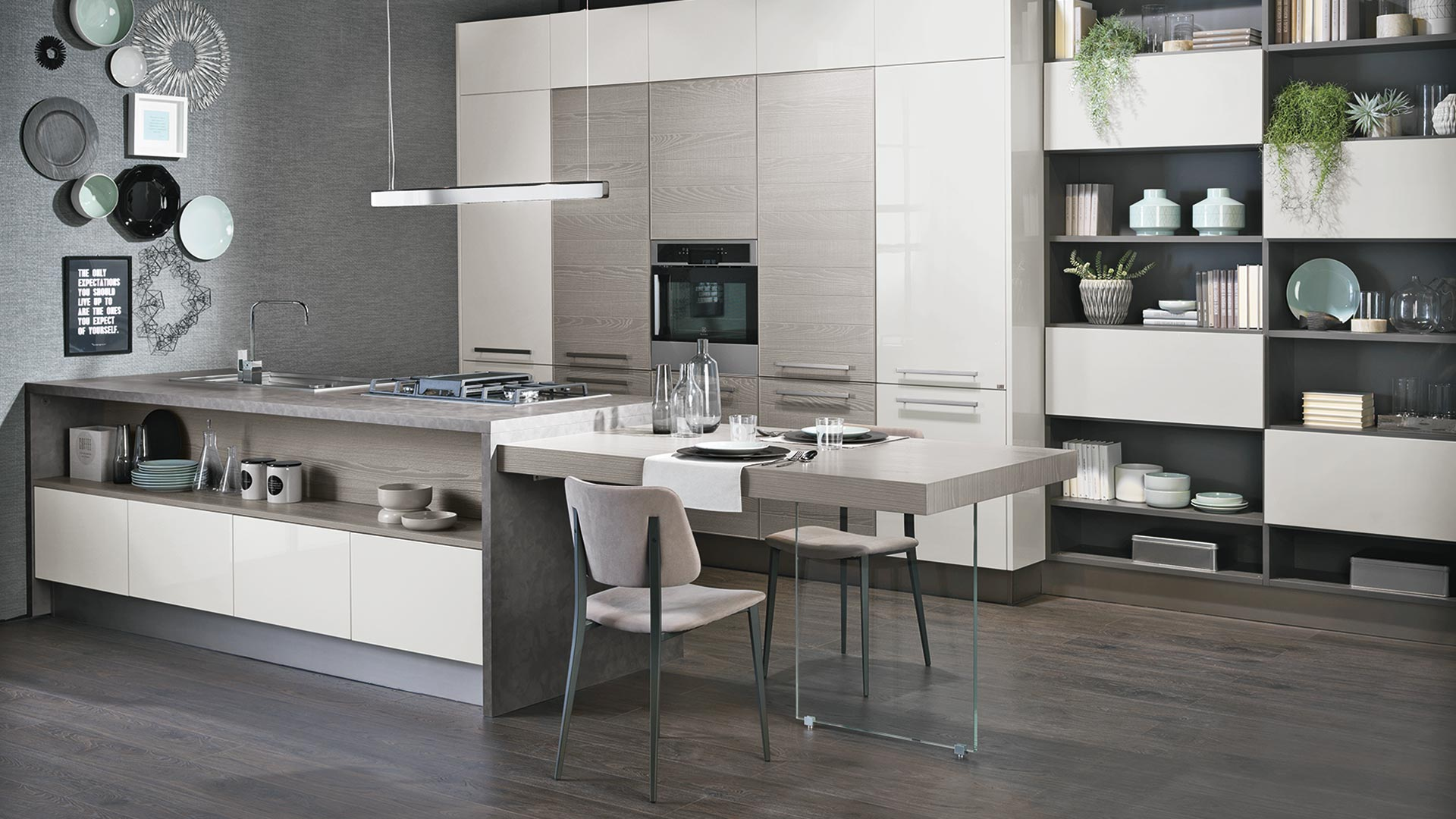 Cucine Moderne Con Isola Lube.Cucine Moderne Arredo Cucina Moderna Cucine Lube