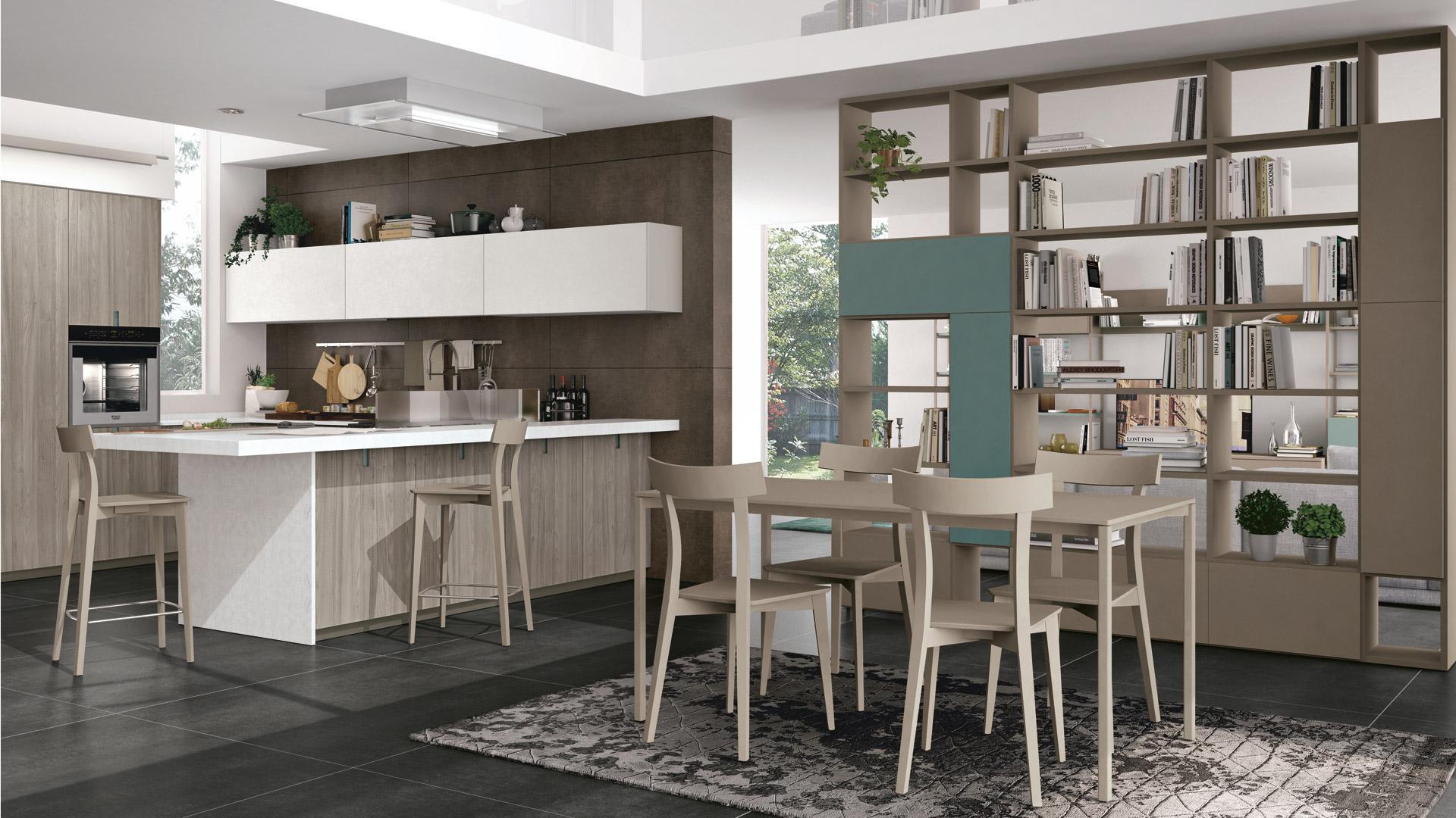 Tavoli, sedie e design - Cucine Lube
