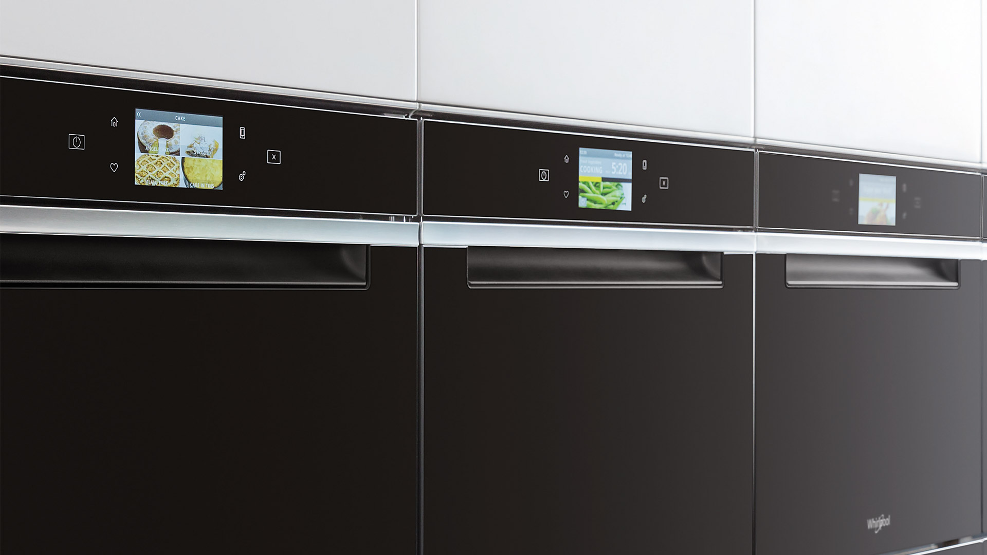 Intuitiveness, technology and design in the kitchen with the W Collection by Whirlpool - Cucine LUBE