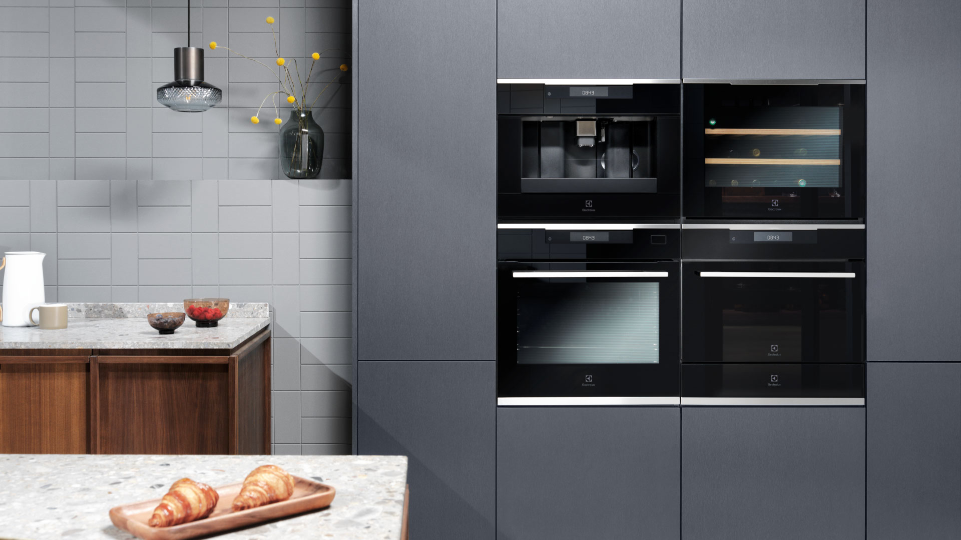 Steam ovens? Electrolux has invented them - Cucine LUBE
