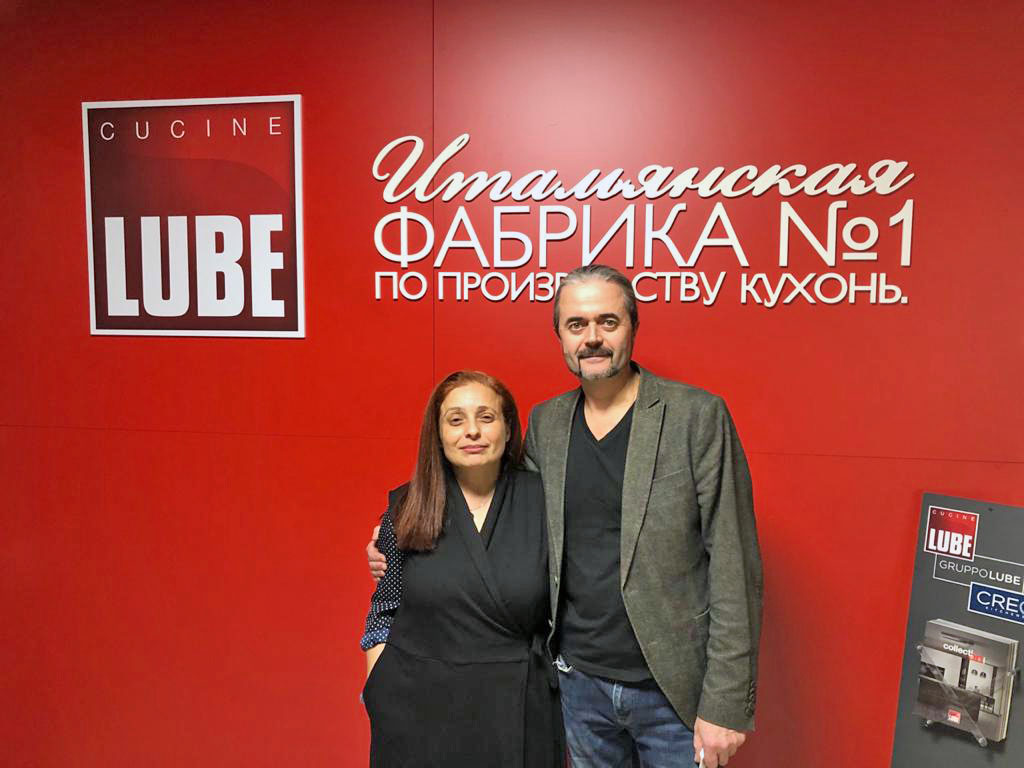 Belarus, a brand new Lube Store inaugurated in the capital Minsk - Cucine LUBE