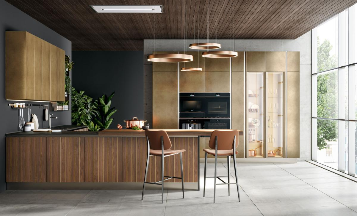 Elegance, research and attention to detail: the new Design Collection of Cucine LUBE - Cucine LUBE