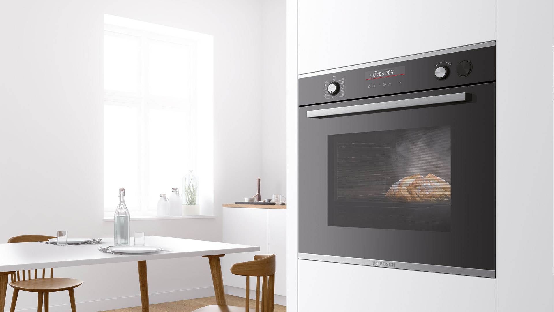 A secret ingredient for your recipes? The Bosch Series 6 ovens with steam impulses - Cucine LUBE