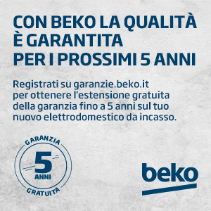 With Beko, quality is guaranteed for five years - Cucine LUBE