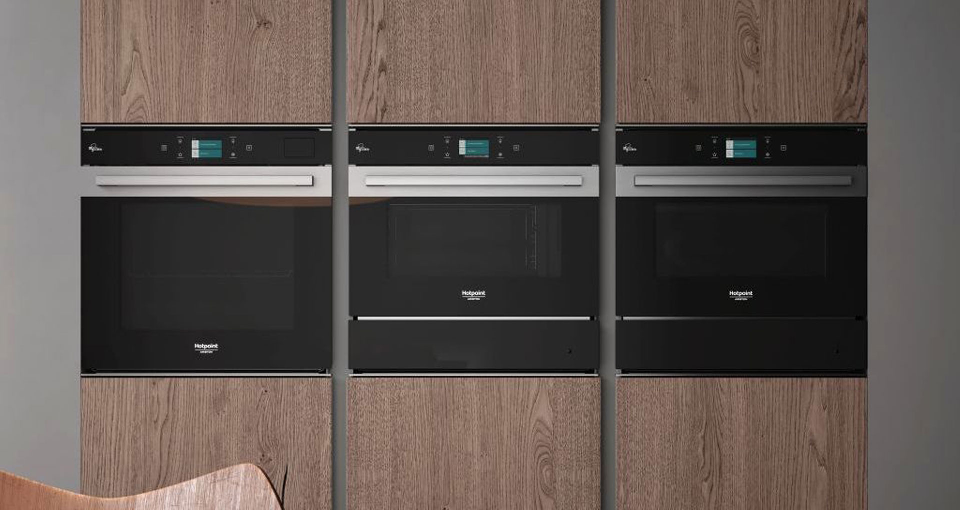 Active Steam100 by Hotpoint, the oven which combines traditional cooking with steam cooking - Cucine LUBE