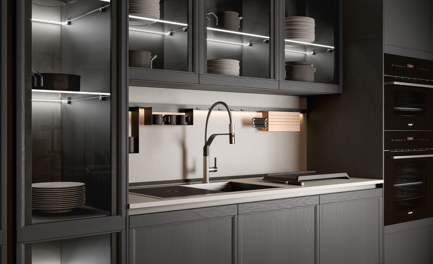 Kitchen lighting: the perfect combination between functionality and visual appeal - Cucine LUBE