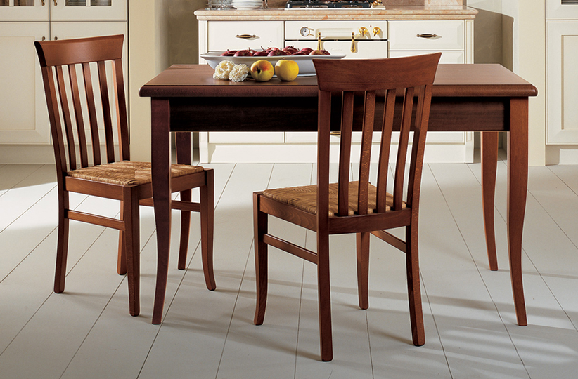 Velia gambi ciliegio - Tables and chairs - Cucine Lube