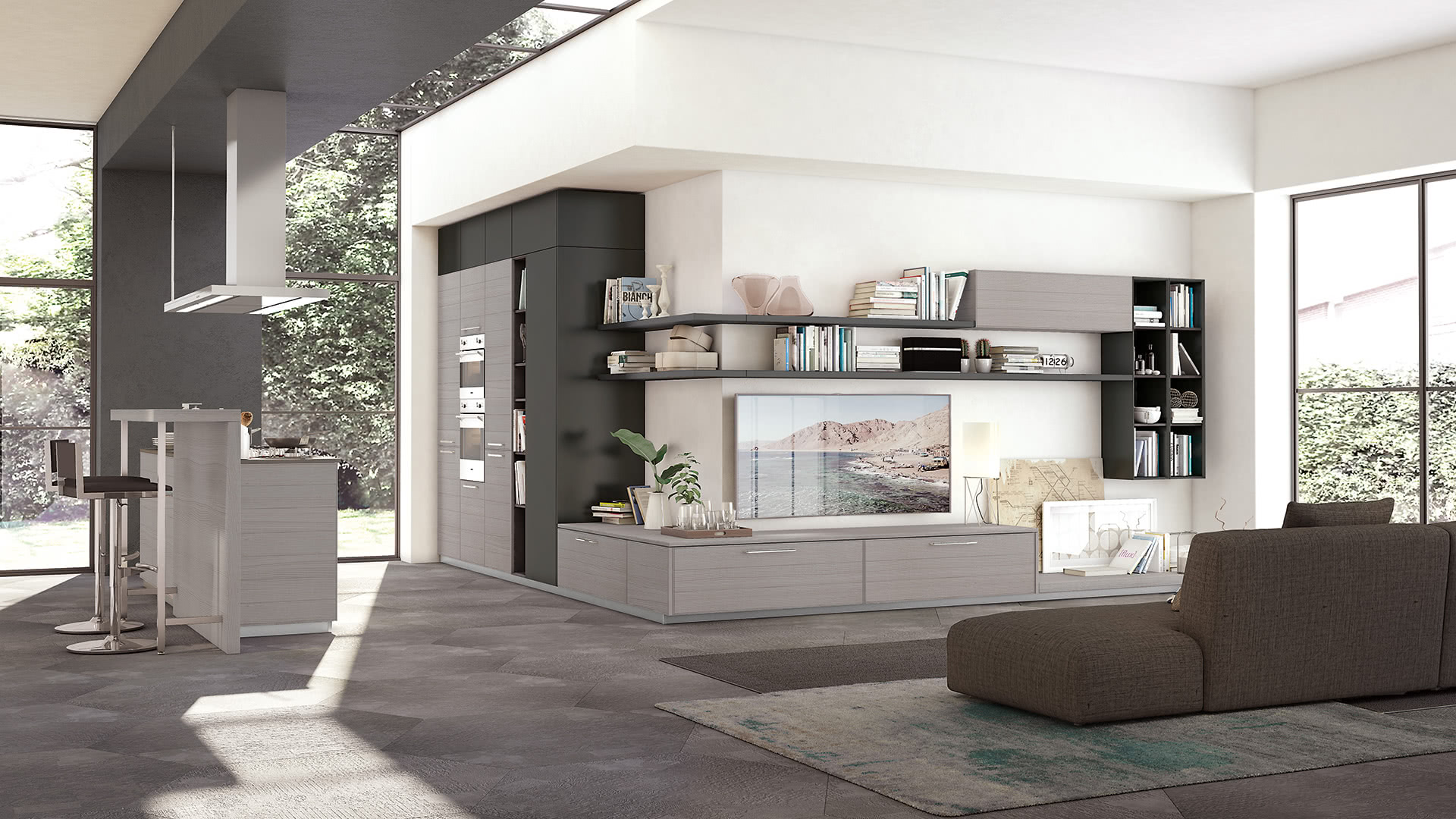 Adele Project Cucine Moderne Cucine Lube