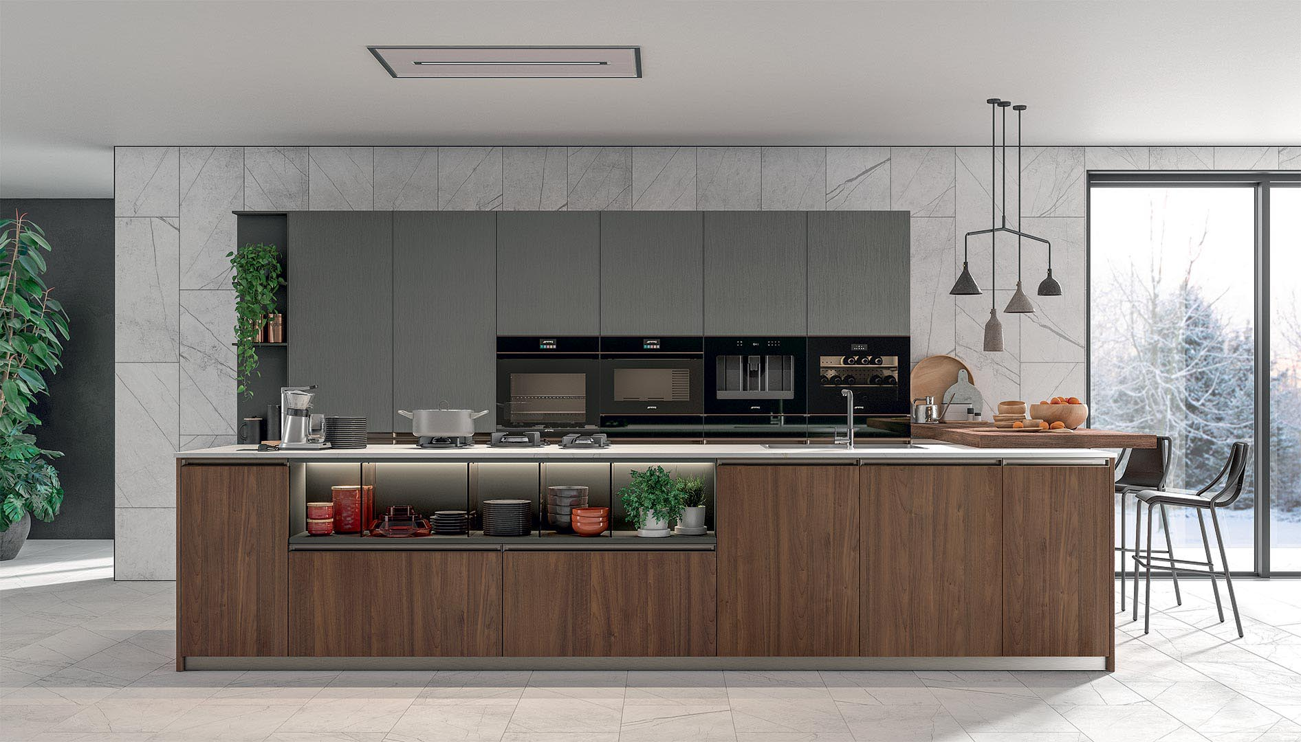 Immagina Plus - Modern Kitchens - Cucine LUBE