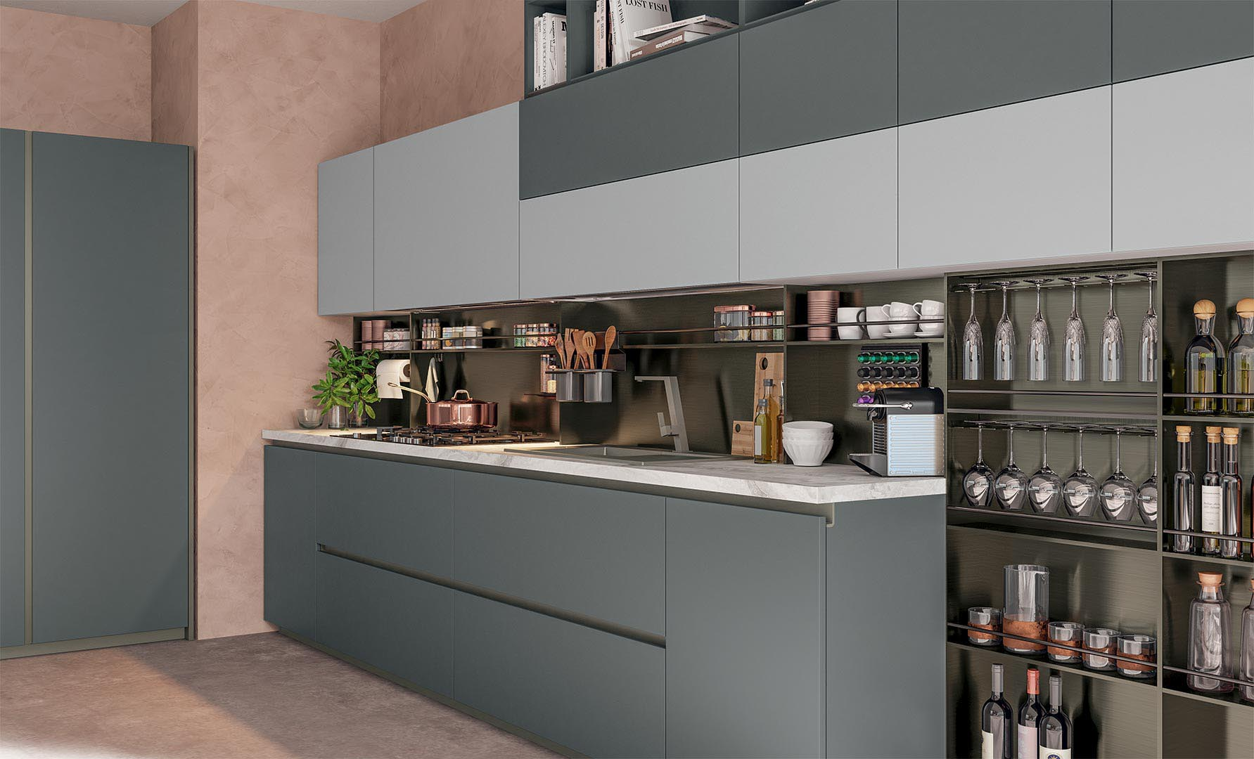 Cucina Immagina Lube.Immagina Plus Cucine Moderne Cucine Lube