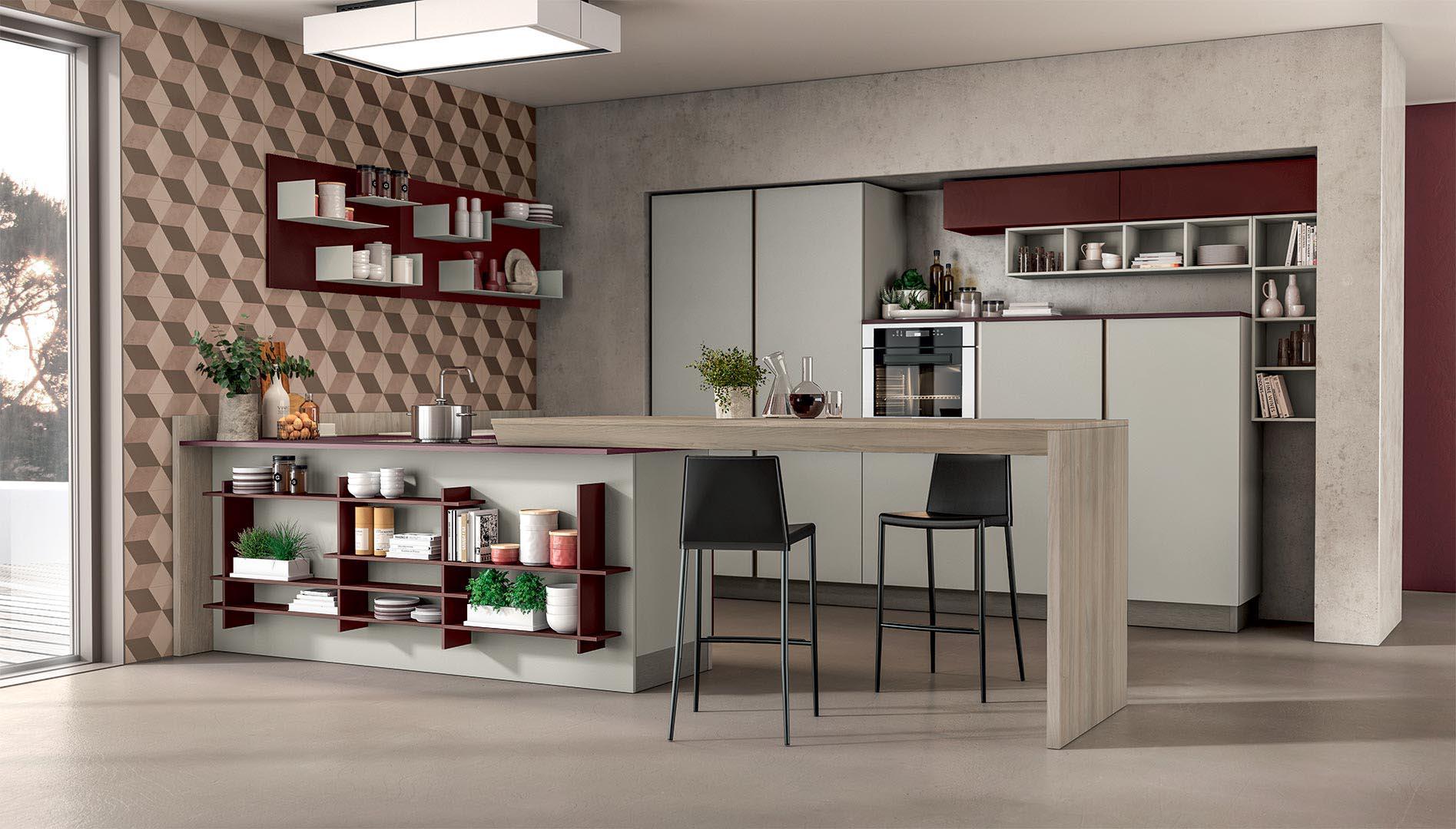 Immagina Plus - Cucine Moderne - Cucine LUBE