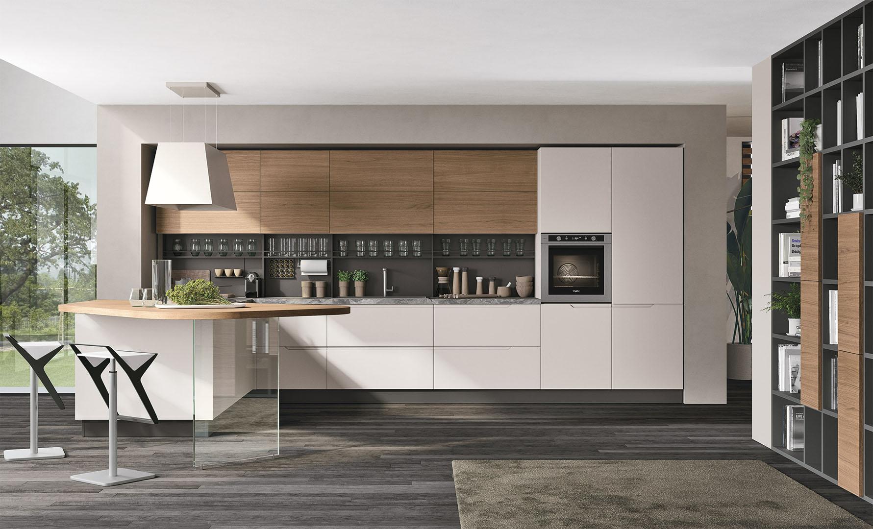 Quanto Costa Una Cucina Lube Moderna.Luna Cucine Moderne Cucine Lube