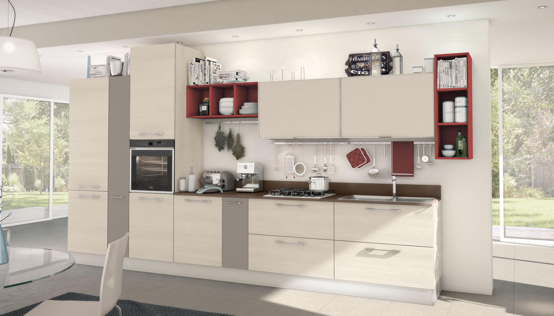 Noemi - Cucine Moderne - Cucine LUBE