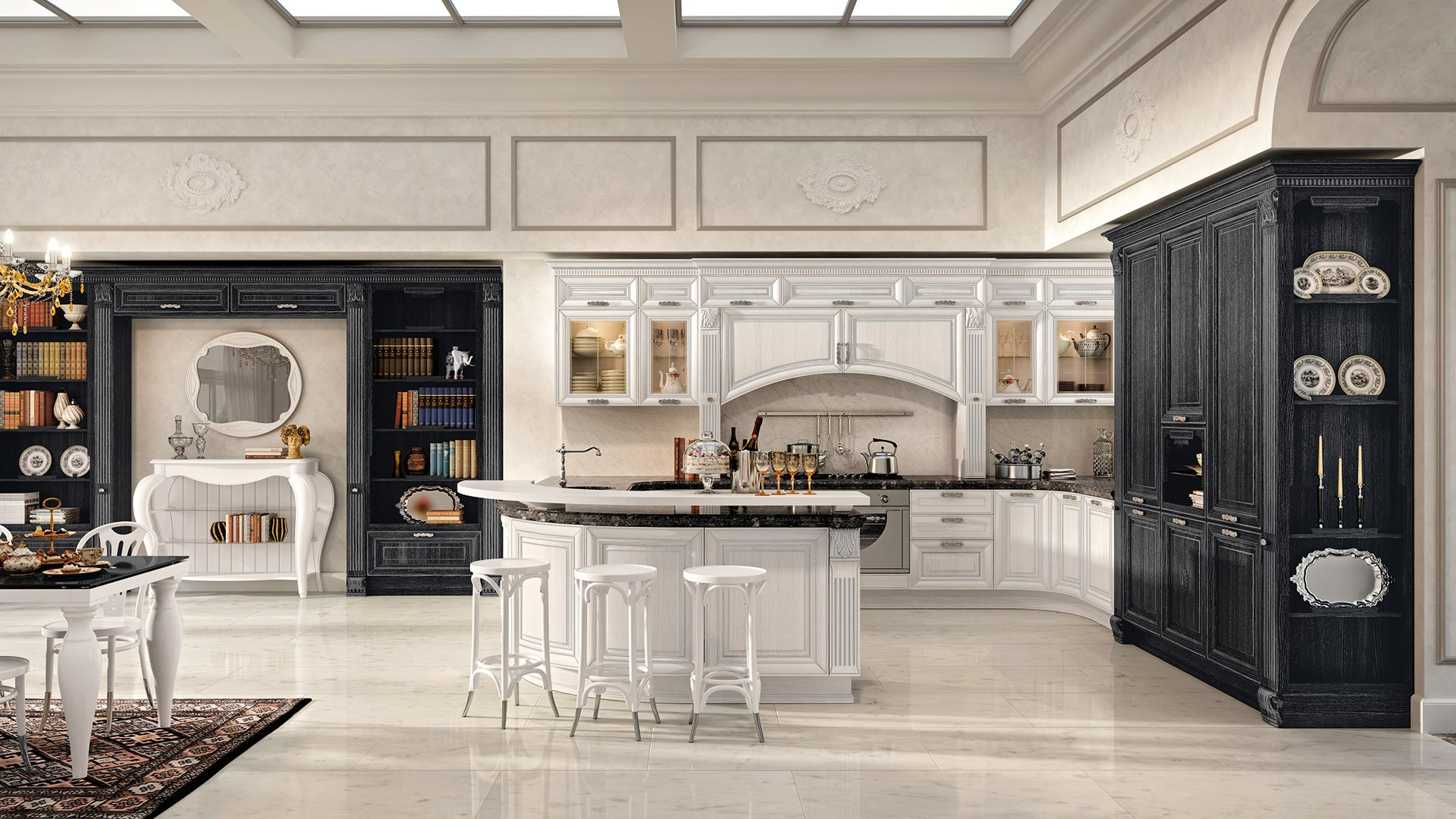 Pantheon - Classic Kitchens - Cucine LUBE