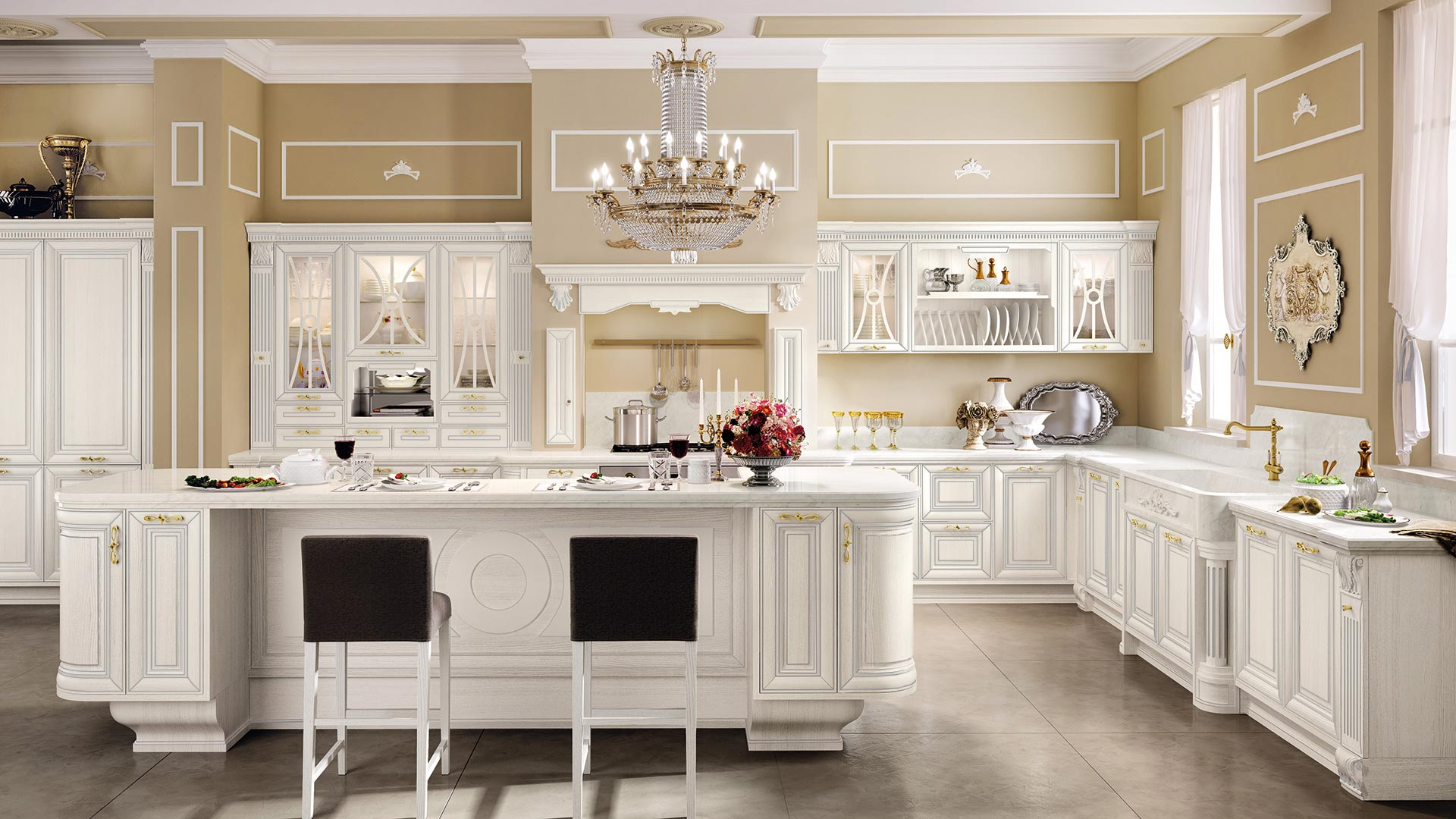Pantheon - Cucine Classiche - Cucine LUBE