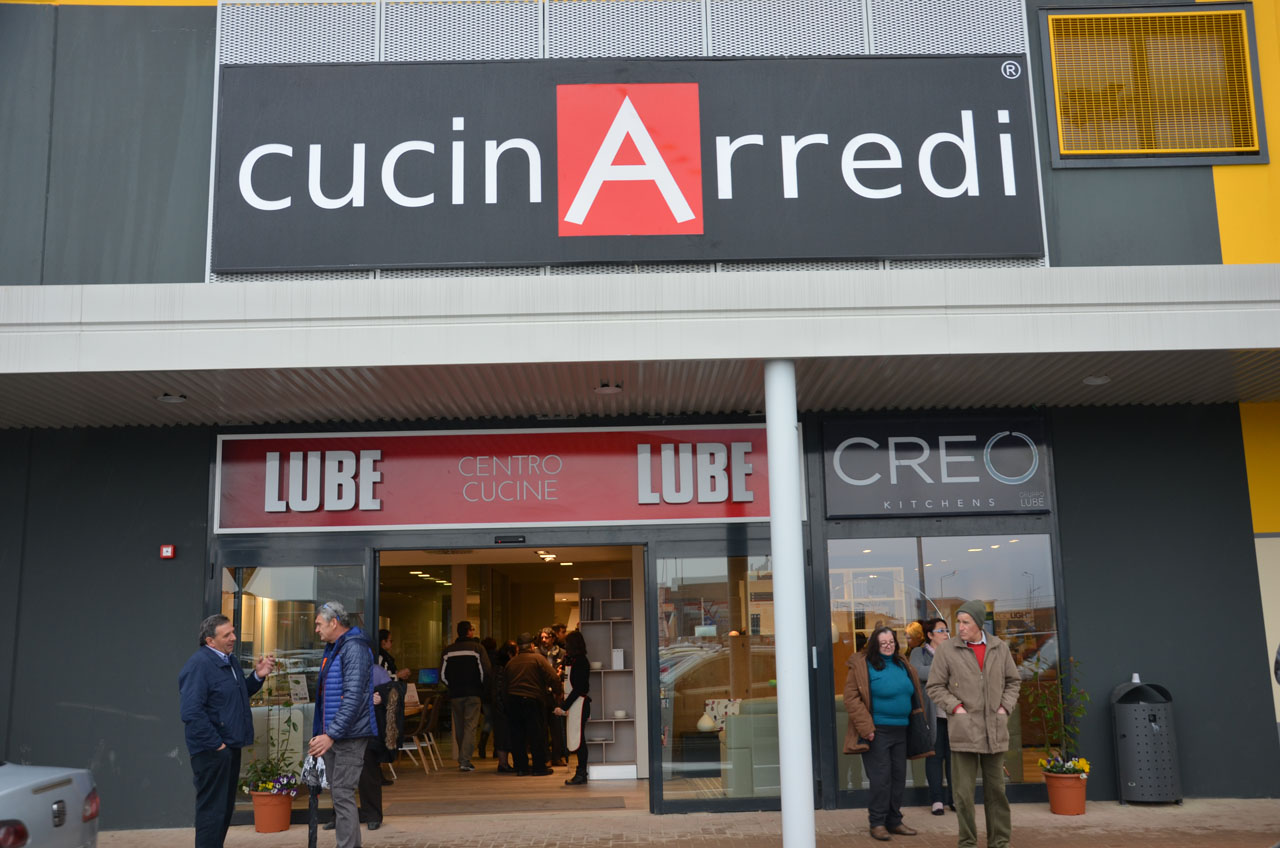 The Lube Group inaugurates a new sales outlet with Cucinarredi ...