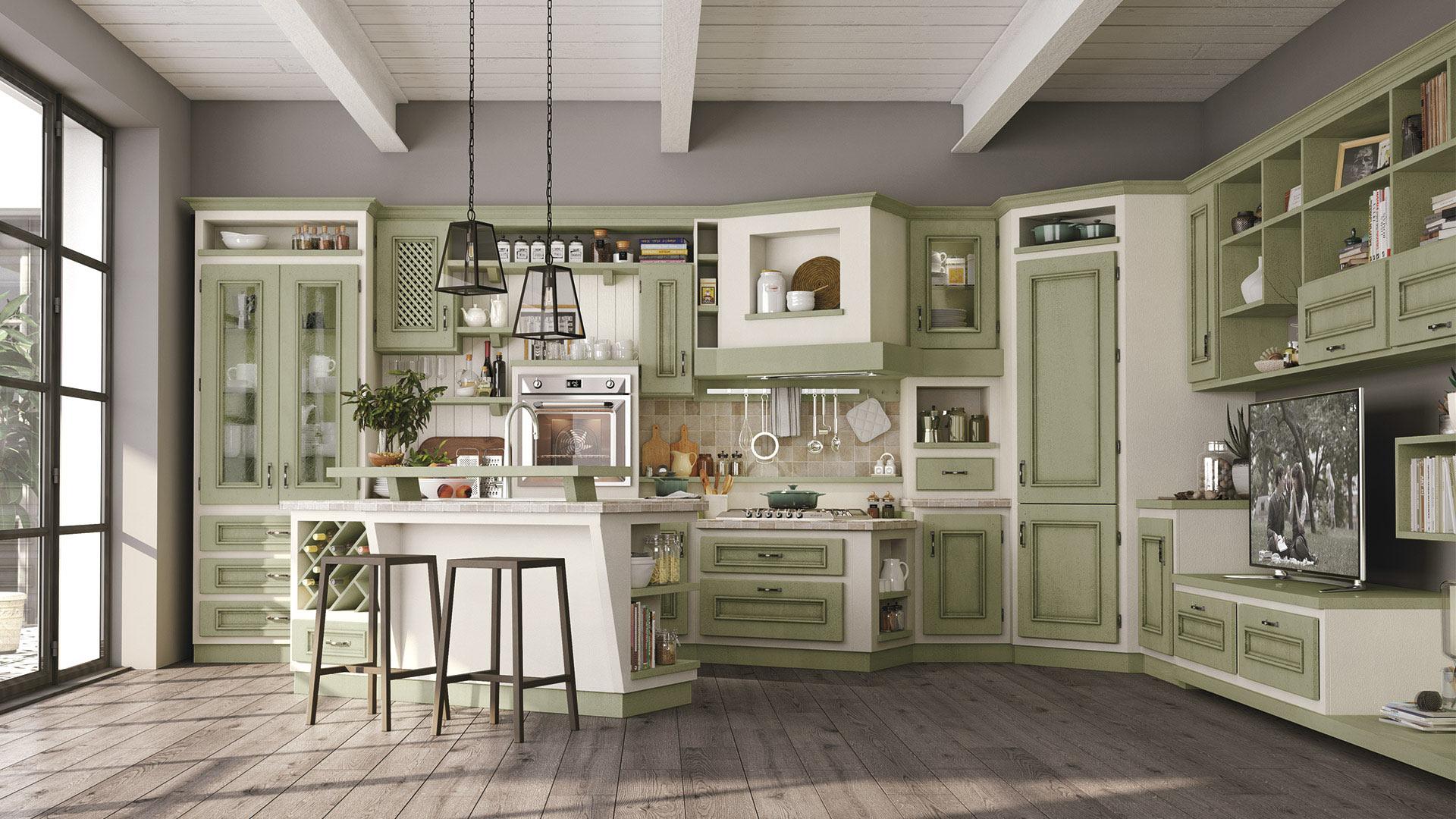 Beatrice - Cucine Borgo Antico - Cucine LUBE