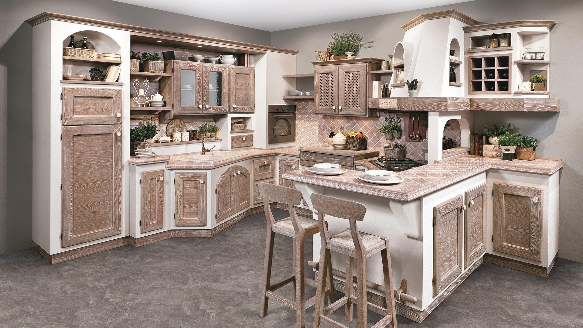 Luisa - Cucine Borgo Antico - Cucine LUBE