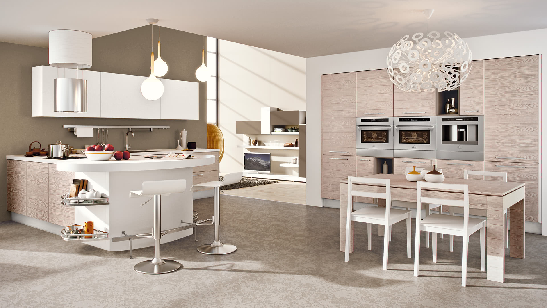 Best Cucina Lube Adele Contemporary - Lepicentre.info - lepicentre.info