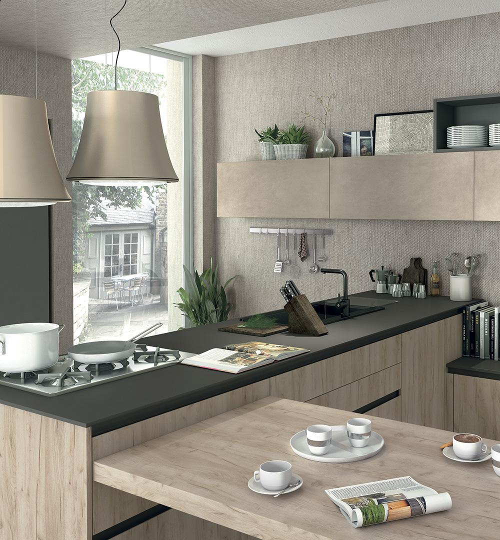 La nuova generazione di piani cottura e forno - Cucine Lube