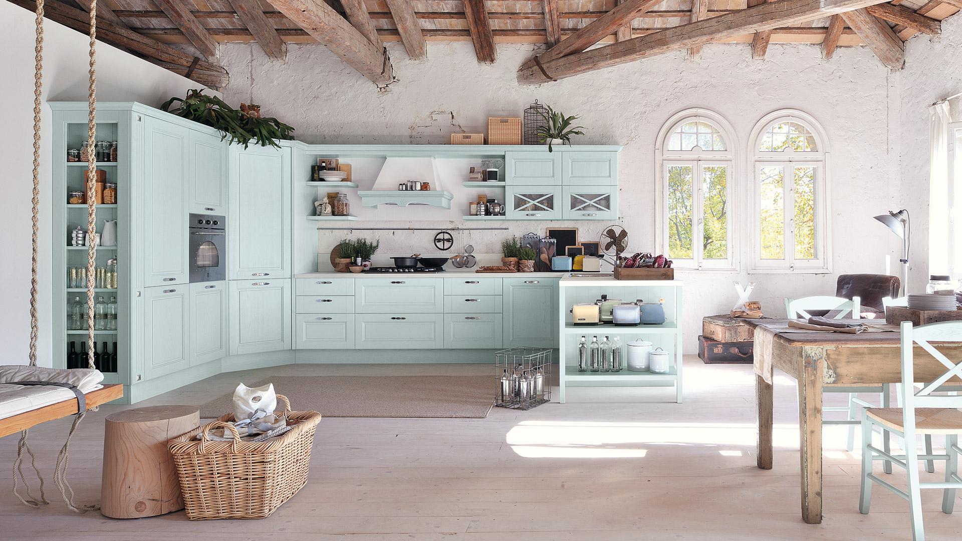 Lo stile provenzale in cucina - Cucine Lube