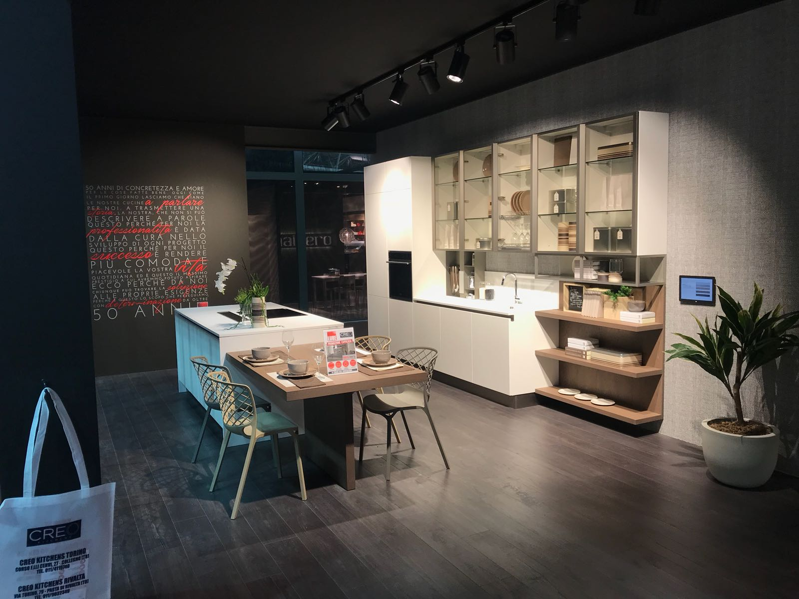 Gruppo LUBE at the 55th Expocasa Torino trade fair - Kitchens Lube