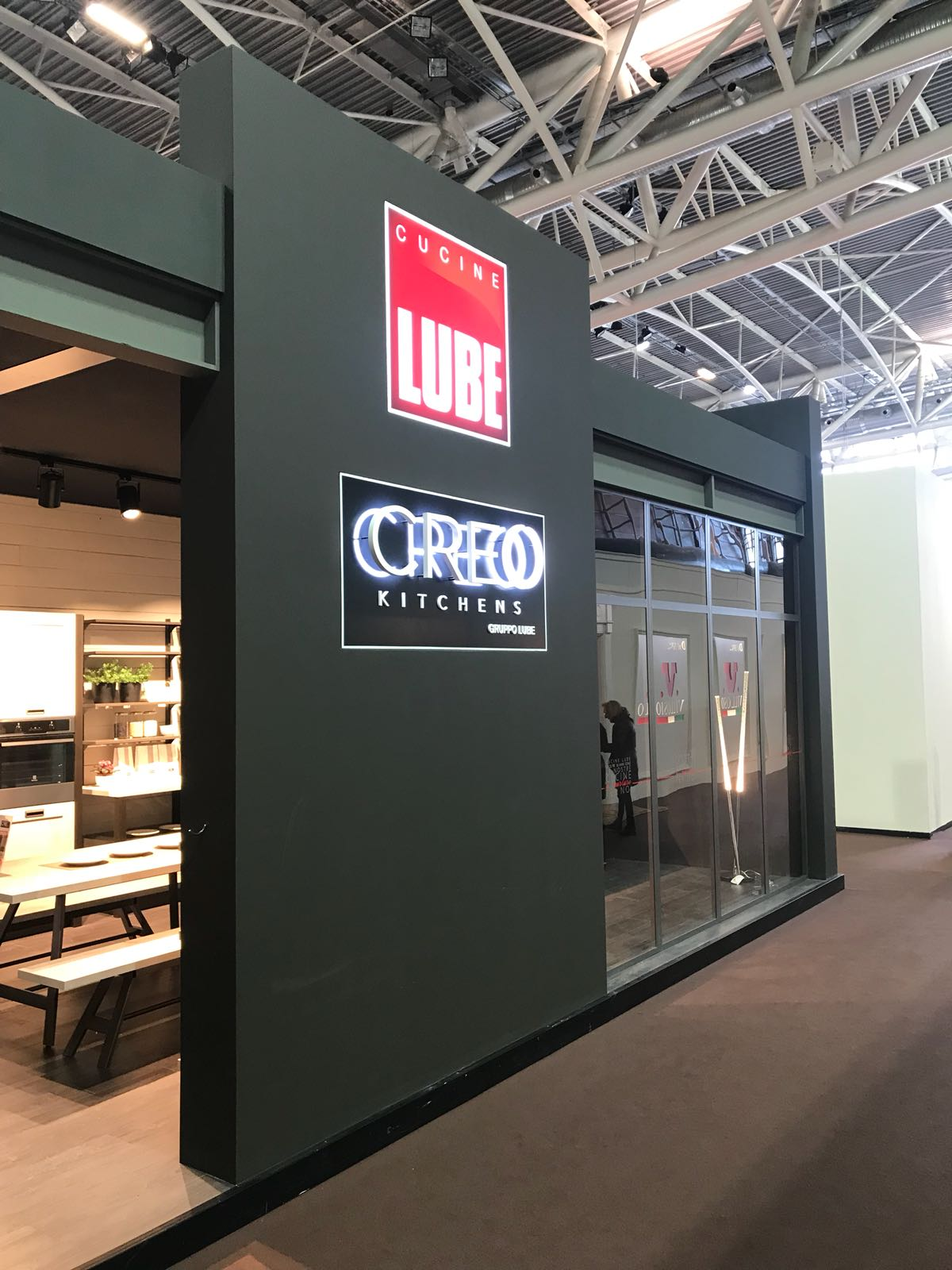 Gruppo LUBE at the 55th Expocasa Torino trade fair - Cucine Lube