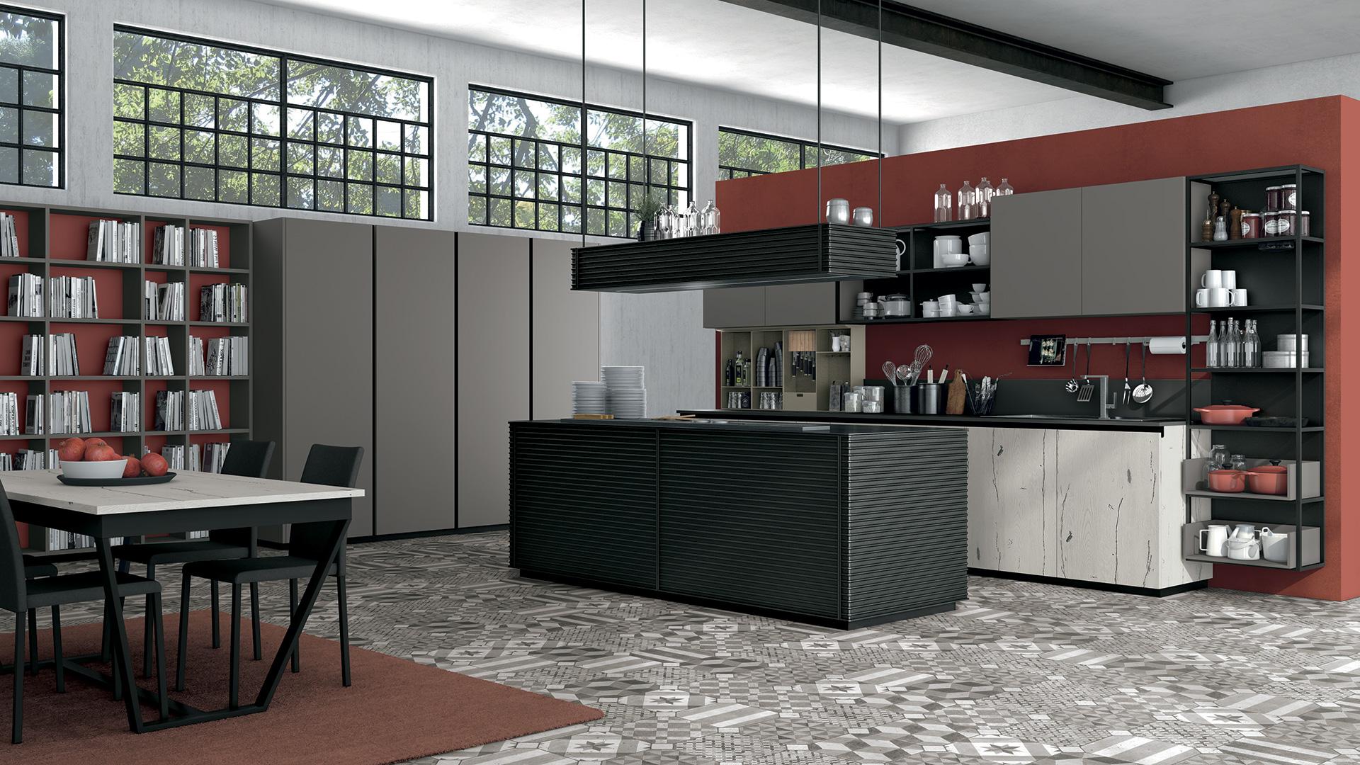 Prezzi Cucine Lube Moderne. Cucina Lube Expo Scontata Cucine A ...