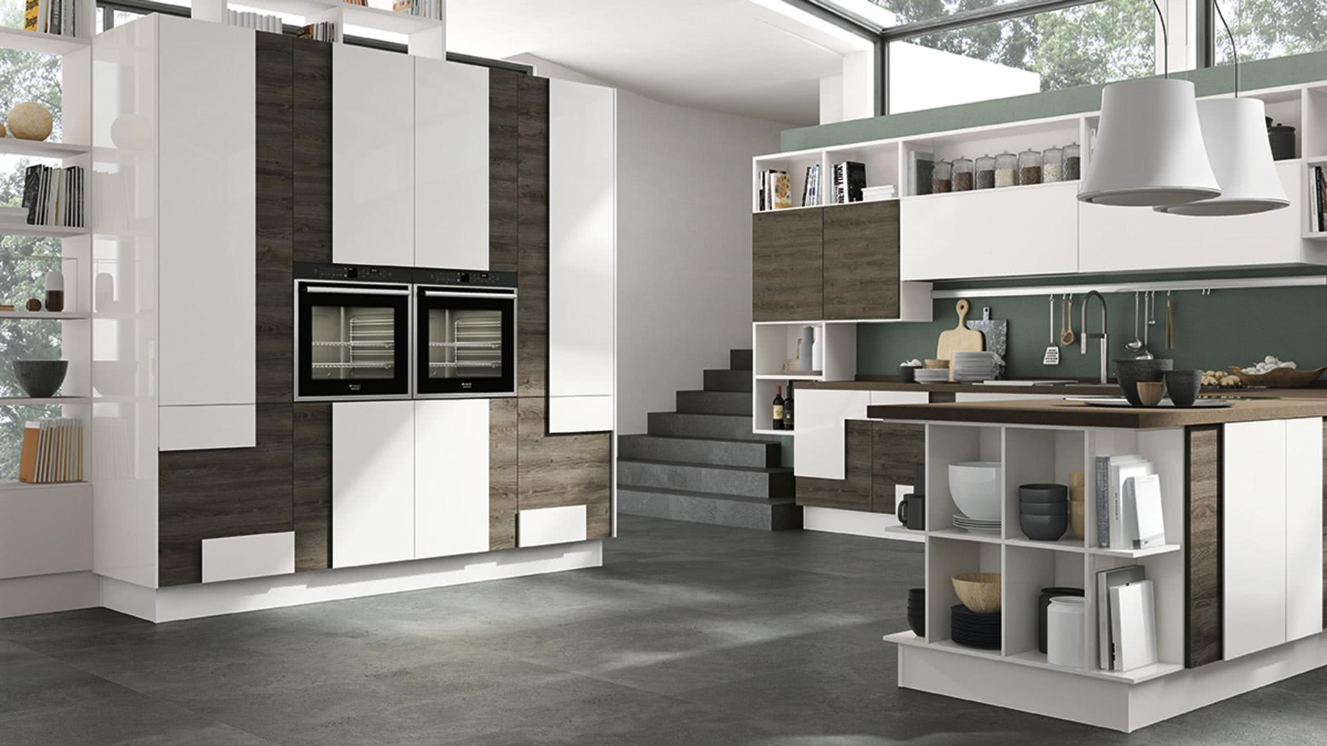 Creativa - Cucine Moderne - Cucine LUBE