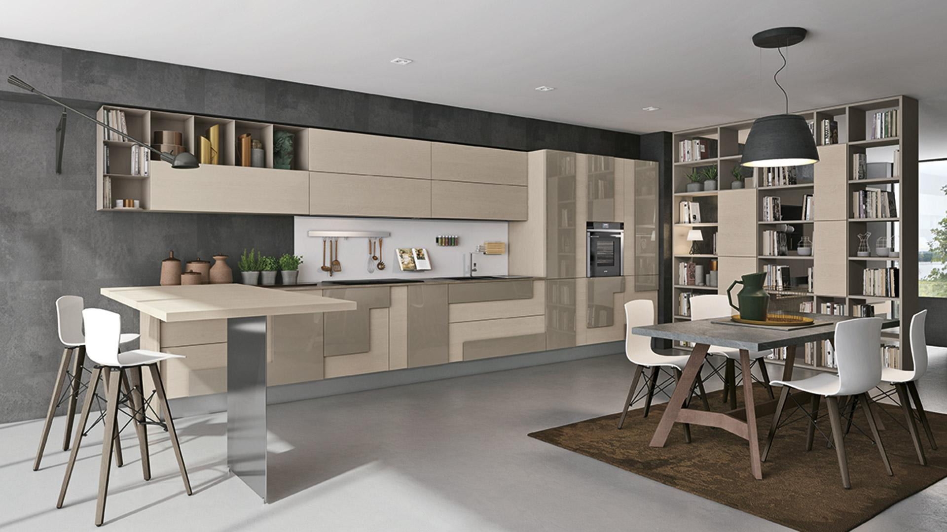 Geometria in cucina - Cucine Lube