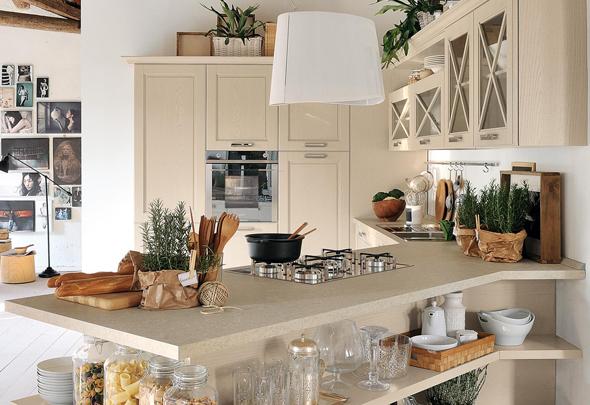 Cucine ad angolo: libertà e spazio - Cucine Lube